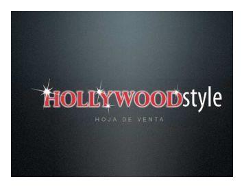 dossier hollywood style - Centro de Directores Para El Nuevo Teatro