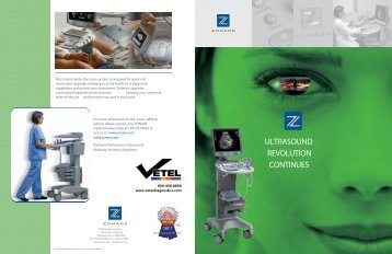to see the z.one Ultra brochure - Vetel Diagnostics