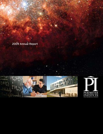 2009 Annual Report - Perimeter Institute
