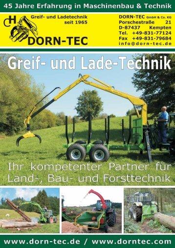 DORN-TEC KATALOG - DORN-TEC GmbH & Co.KG