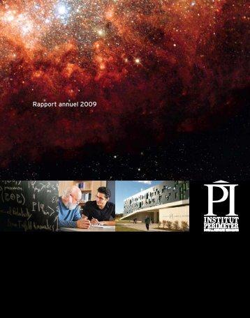 Rapport annuel 2009 - Perimeter Institute