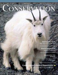 Conservation's Golden Opportunity - Alberta Conservation Association