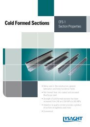 Cold Formed Sections - BlueScope Steel