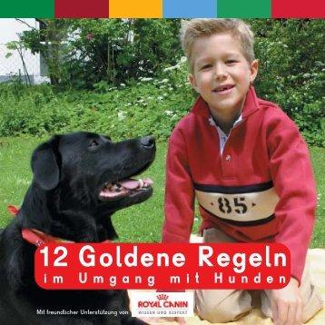 Royal Canin 12 goldene Regeln im Umgang mit