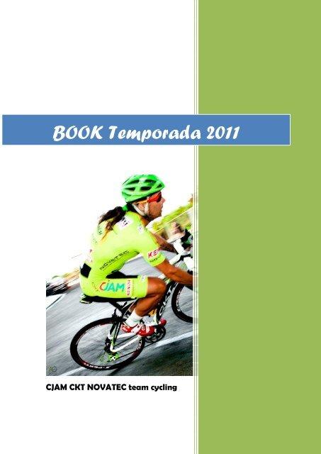 Memoria Deportiva Temporada 2011 - CJAM team cycling