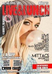 LIVE & LUNCH (März2015)