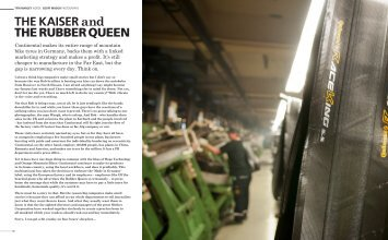 Privateer Magazine Feature - Continental