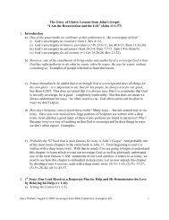 Handout #1 (PDF) - Annual Sovereign Grace Bible Conference