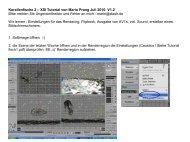Korallenfische 2 – XSI Tutorial von Mario  Prang Juli 2010 V1.2 Bitte ...