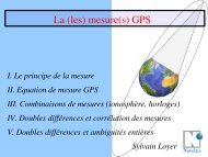 f - CNES/CLS Analysis Center for IGS