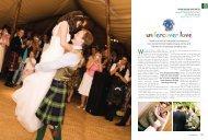 Giant tipis and a Hawaiian bar were just - Real Life Weddings