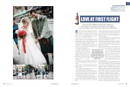 LOVE AT FIRST FLIGHT - Real Life Weddings