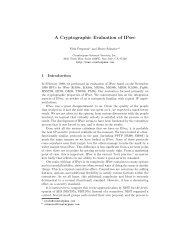 A Cryptographic Evaluation of IPsec - Bruce Schneier