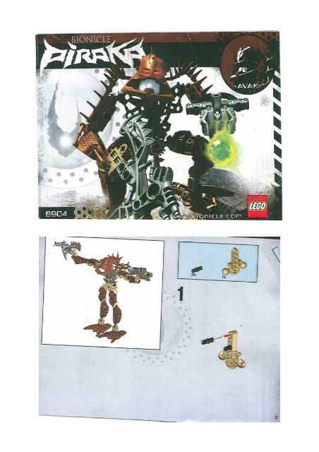 Avak 8904 Piraka De Mes Notices Lego Jouets Bionicle qMpSzVU