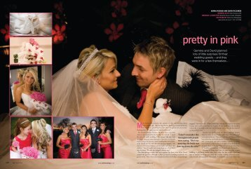 pretty in pink - Real Life Weddings