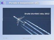 Rozbor bezpečnosti letů - Ústav pro odborné zjišťování příčin ...