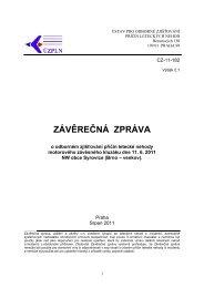 Z ZÁVĚ ĚREČ ČNÁ ZPR RÁVA A - Ústav pro odborné zjišťování ...