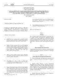 Rozhodnutí Komise ze dne 5. prosince 2012 o přístupových právech ...