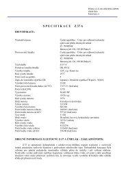 specifikacez 37 a - Ústav pro odborné zjišťování příčin leteckých ...