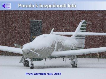 Rozbor bezpečnosti za 1. čtvrtletí 2012 - Ústav pro odborné ...
