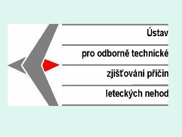1 - Ústav pro odborné zjišťování příčin leteckých nehod