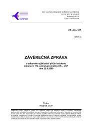 závěrečná zpráva - Ústav pro odborné zjišťování příčin leteckých ...