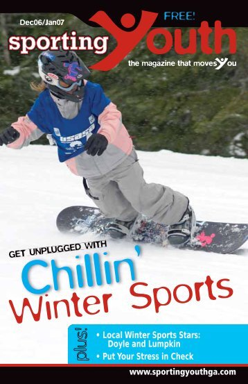 Winter Sports - Sportingyouth.org