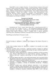 w sprawie powołania Komisji ds. Aplikantów i Aplikacji Rady ...