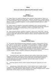 Statut Ústavu pro o - Ústav pro odborné zjišťování příčin leteckých ...