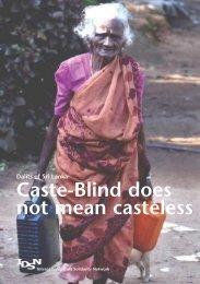 Dalits of Sri Lanka - International Dalit Solidarity Network