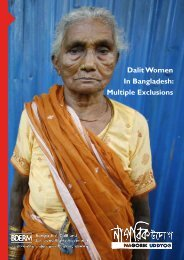 Dalit Women In Bangladesh: Multiple Exclusions