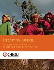 Recasting Justice: Securing Dalit Rights in Nepal's New Constitution