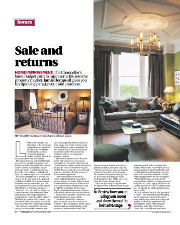 Sale and returns - Jamie Hempsall Ltd