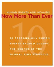 Now More Than Ever - AIDS Legal Network