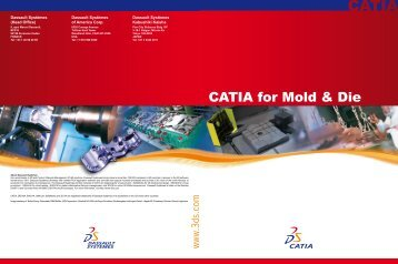 CATIA for Mold & Die - PLM