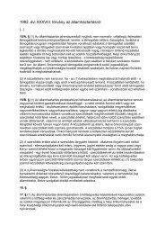 1992. évi XXXVIII. törvény az államháztartásról - TASZ