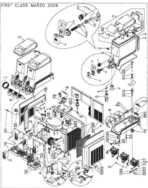 Elmeco First Class Drain Plastic Connection Parts