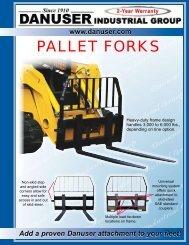 PALLET FORKS - Rankin Equipment Co.