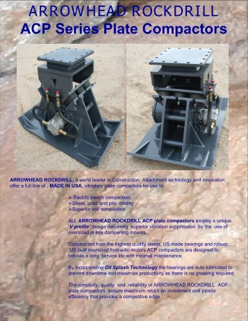 Plate Compactors - Rankin Equipment Co.