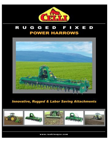 Power Harrows - Rankin Equipment Co.