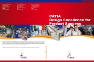 CATIA Design Excellence for Product Success - PLM