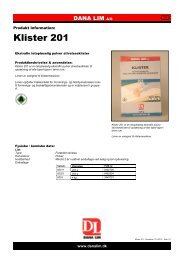 Klister 201 - Dana Lim A/S