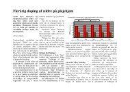 Flerårig doping af ældre på plejehjem
