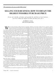 SELLING YOUR BUSINESS: HOW TO OBTAIN THE ... - Leaders LLC