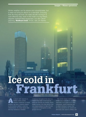 Ice cold in -  Future Airport