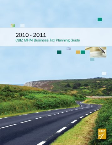 CBIZ MHM Business Tax Planning Guide
