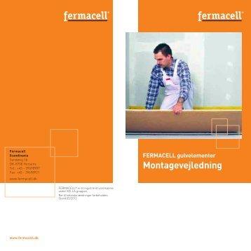 Montagevejledning - Fermacell