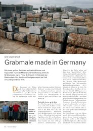 Grabmale made in Germany - Gräf Granit GmbH