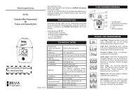 Bedienungsanleitung für Mini-Photometer Checker® HI 701 f. Freies ...