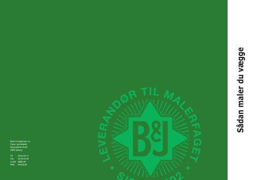 Sådan maler du vægge - Beck & Jørgensen A/S